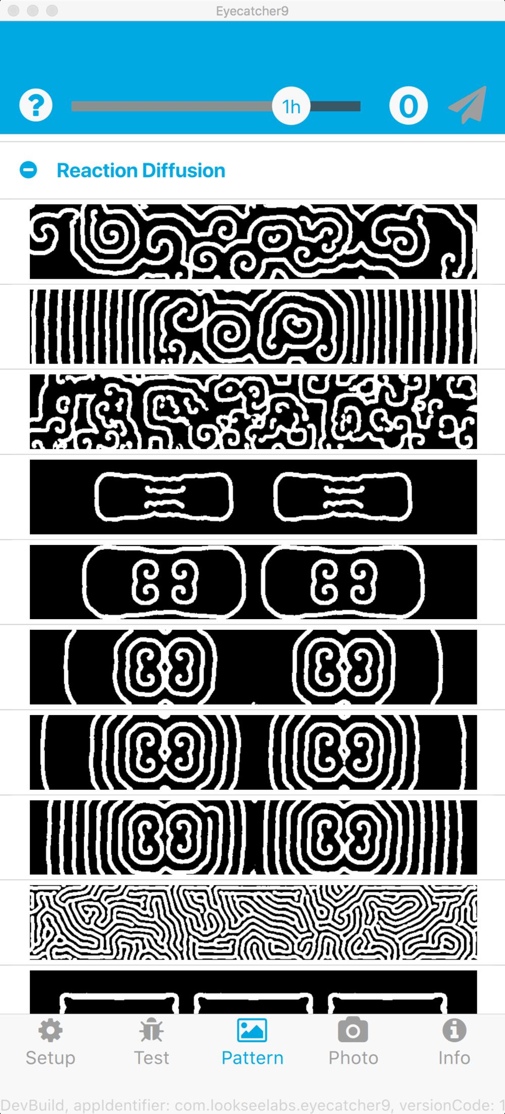 Bio-inspired Turing patterns