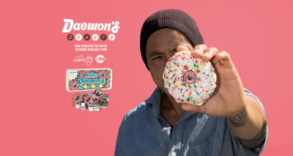 Daewon Song Pro Rated Bearings Daewons Donuts