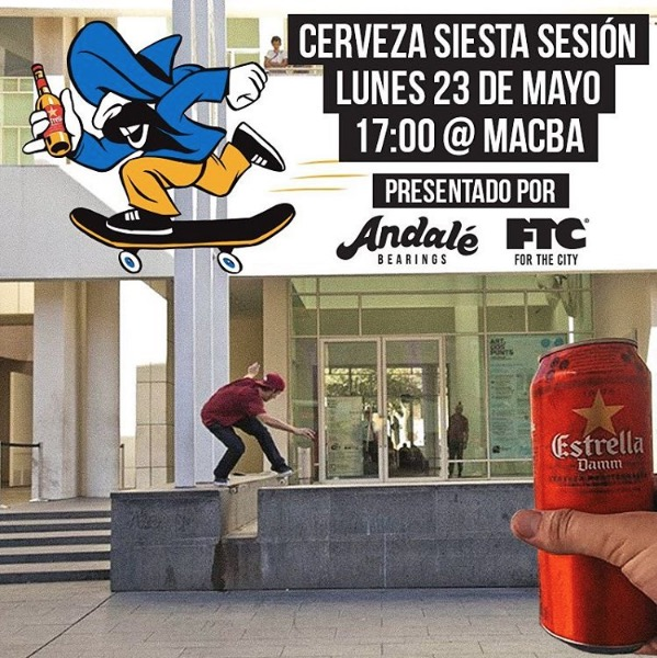 Andale Macba Cerveza Siesta sesion