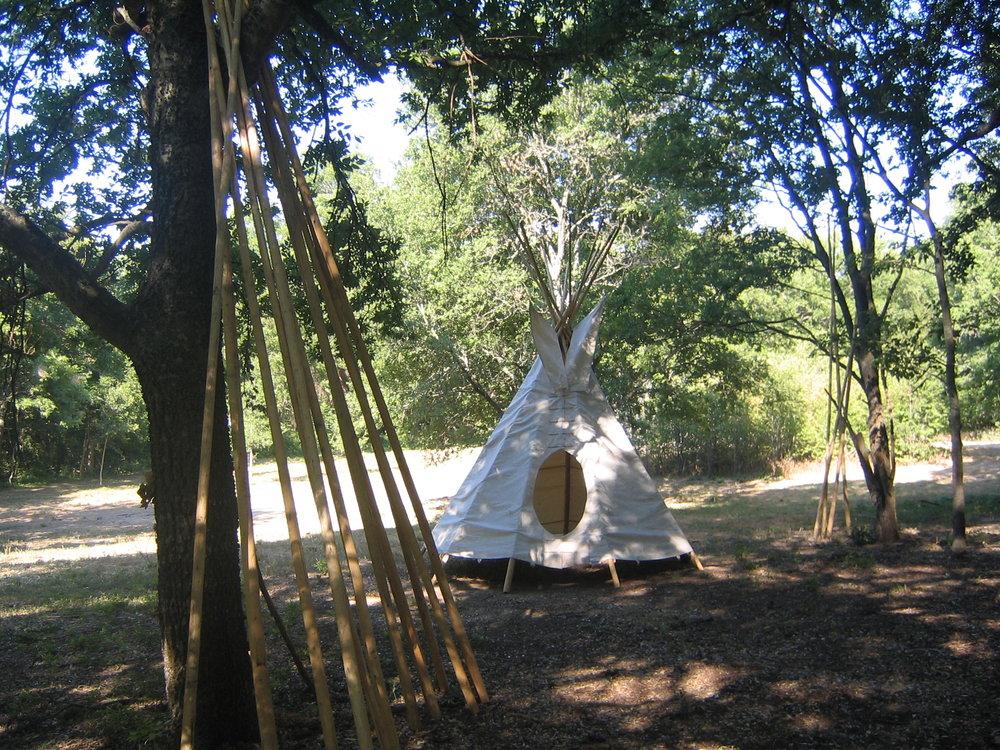 1841 Tonkawa Encampment