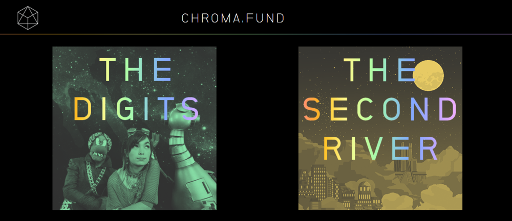 Chroma Fund launches with projects by The Digits and Mountain Machine Studios