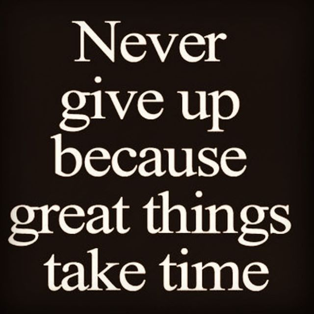 never...#nevergiveup #inspired #transformation #timeismyally #empowered