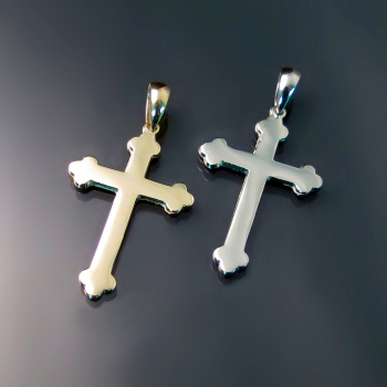Orthodox Crosses ZD-B2 (Our Medium Size Orthodox Cross)