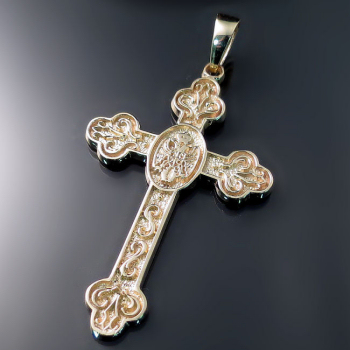 Serbian Cross with Coat of Arms ZD-C19 - Srpski krst sa grbom