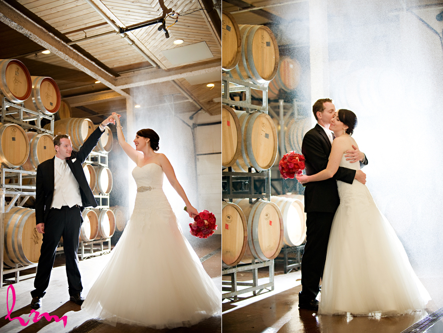 Modern elegance real winery wedding inspiration