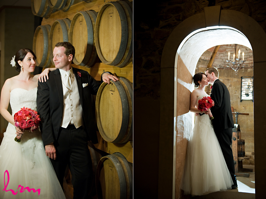 Editorial wedding photography - real Niagara winery wedding
