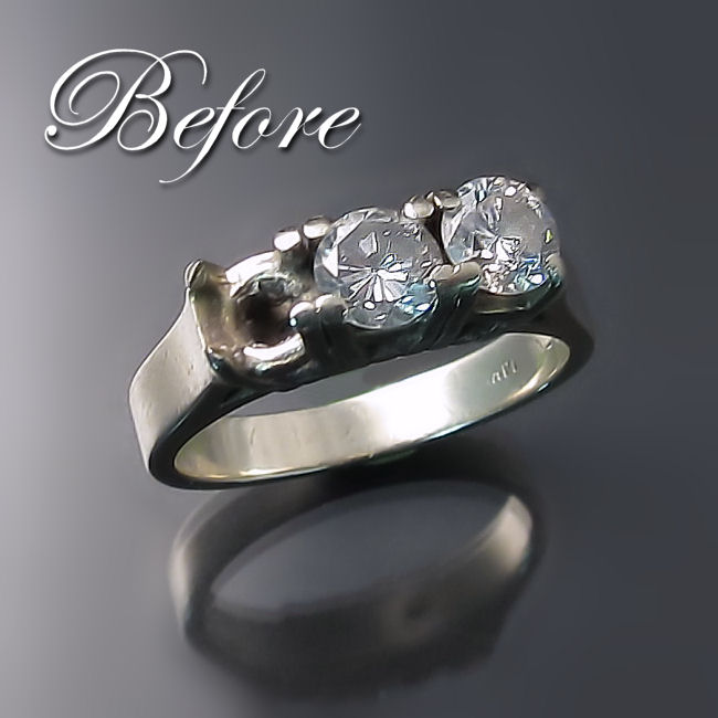 Engagement Ring Redesign And Wedding Band Restoration Zoran Designs Jewellery