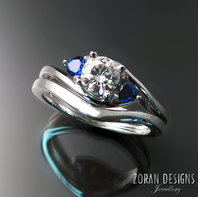 Customized Engagement Rings and Wedding Bands