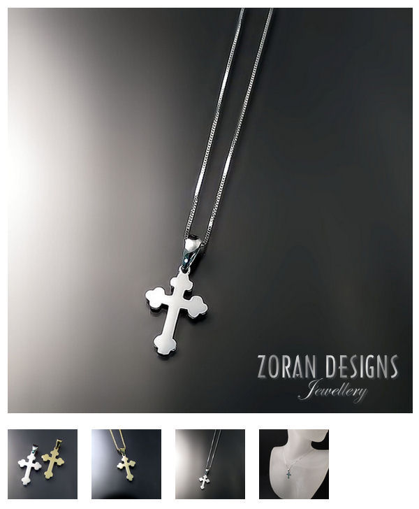 Baptismal Orthodox Crosses - Small style for babies and children