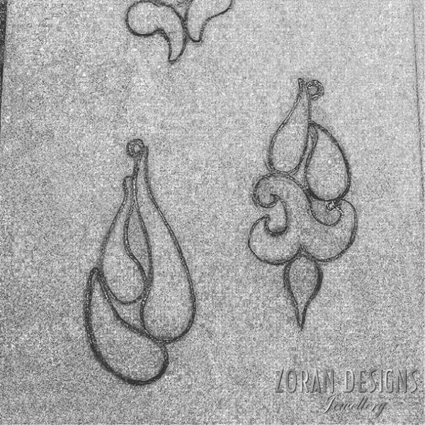 Jewelry design - sketches