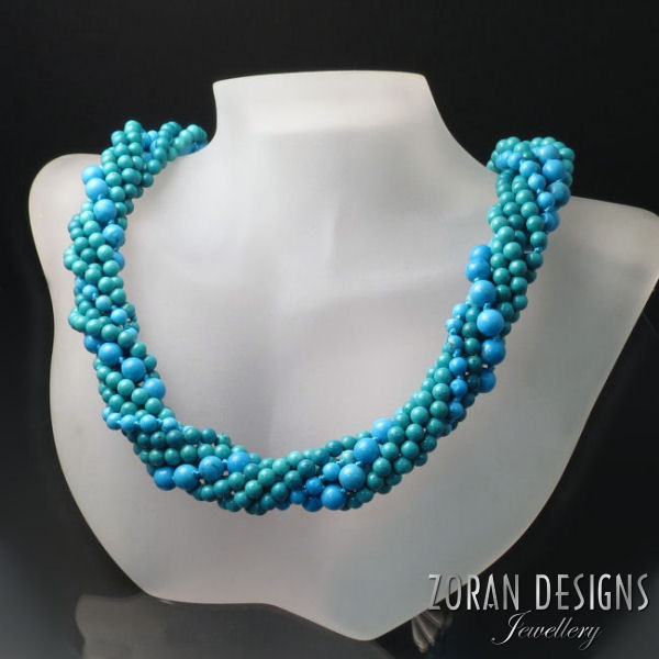 Turquoise Statement Necklace: turquoise