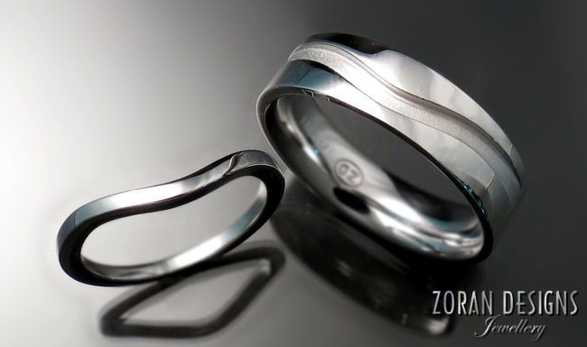 Custom Wedding Bands - Zoran Designs Jewellery