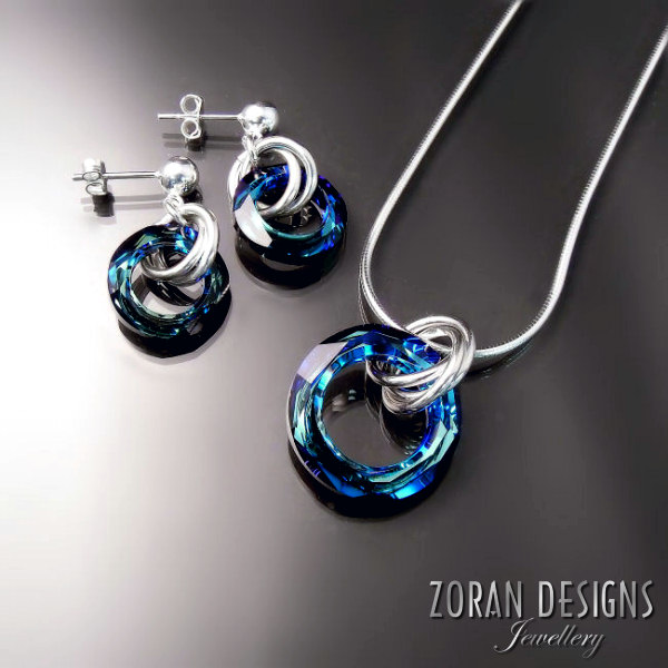 Swarovski Crystal Jewellery — Zoran Designs Jewellery 03f9ff4927cf