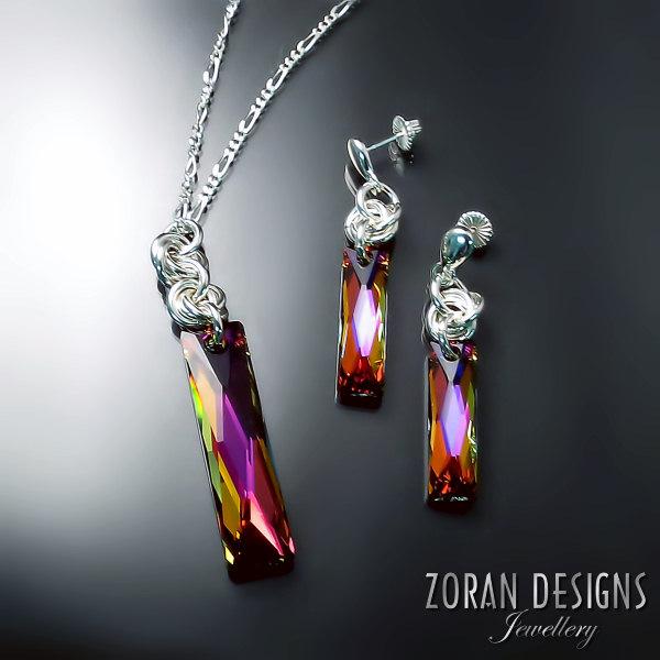 Swarovski Crystal Jewellery Zoran Designs Jewellery