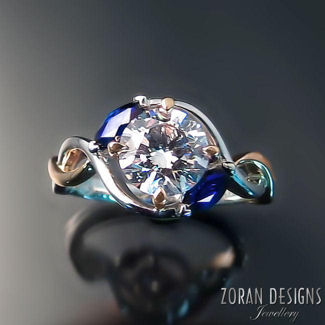 Custom Engagement Ring Zoran Designs Jewellery