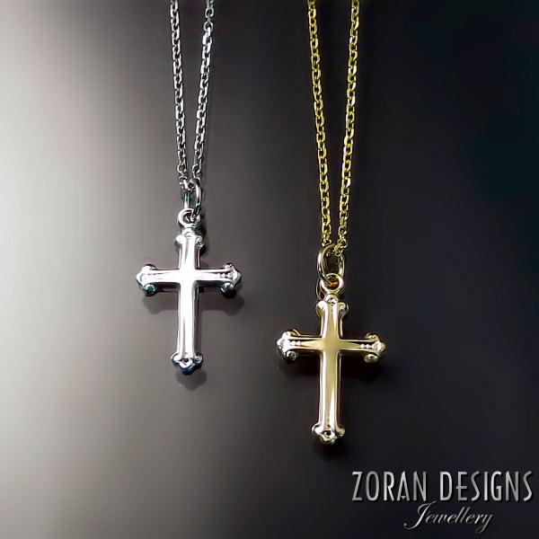 Orthodox crosses zoran designs jewellery orthodox cross pendants aloadofball Image collections
