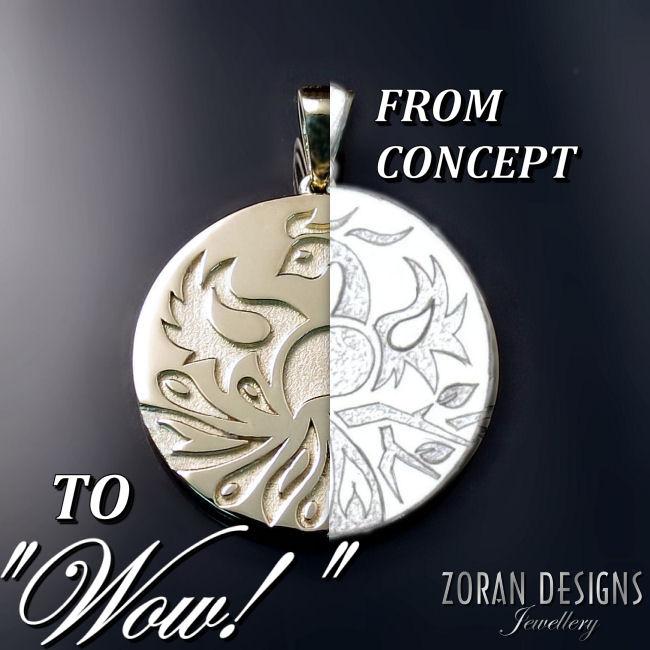 Custom Jewellery Design Zoran Designs Jewellery