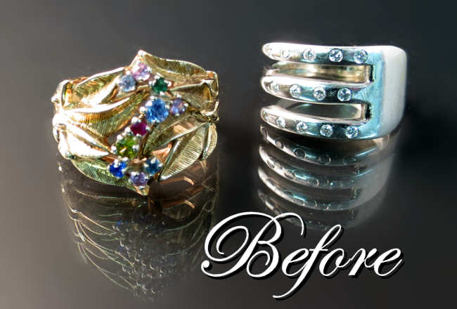 Redesign old jewellery Hamilton Burlington Oakville