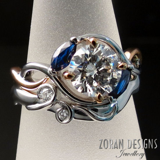 Custom Engagement Rings and Wedding Bands