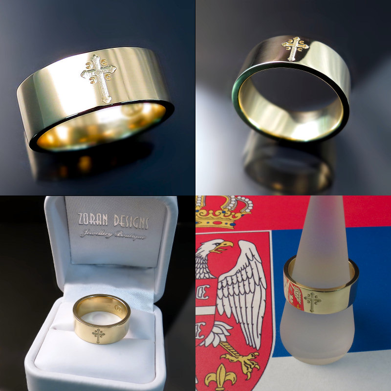 Serbian Wedding Rings - Srpska Burma