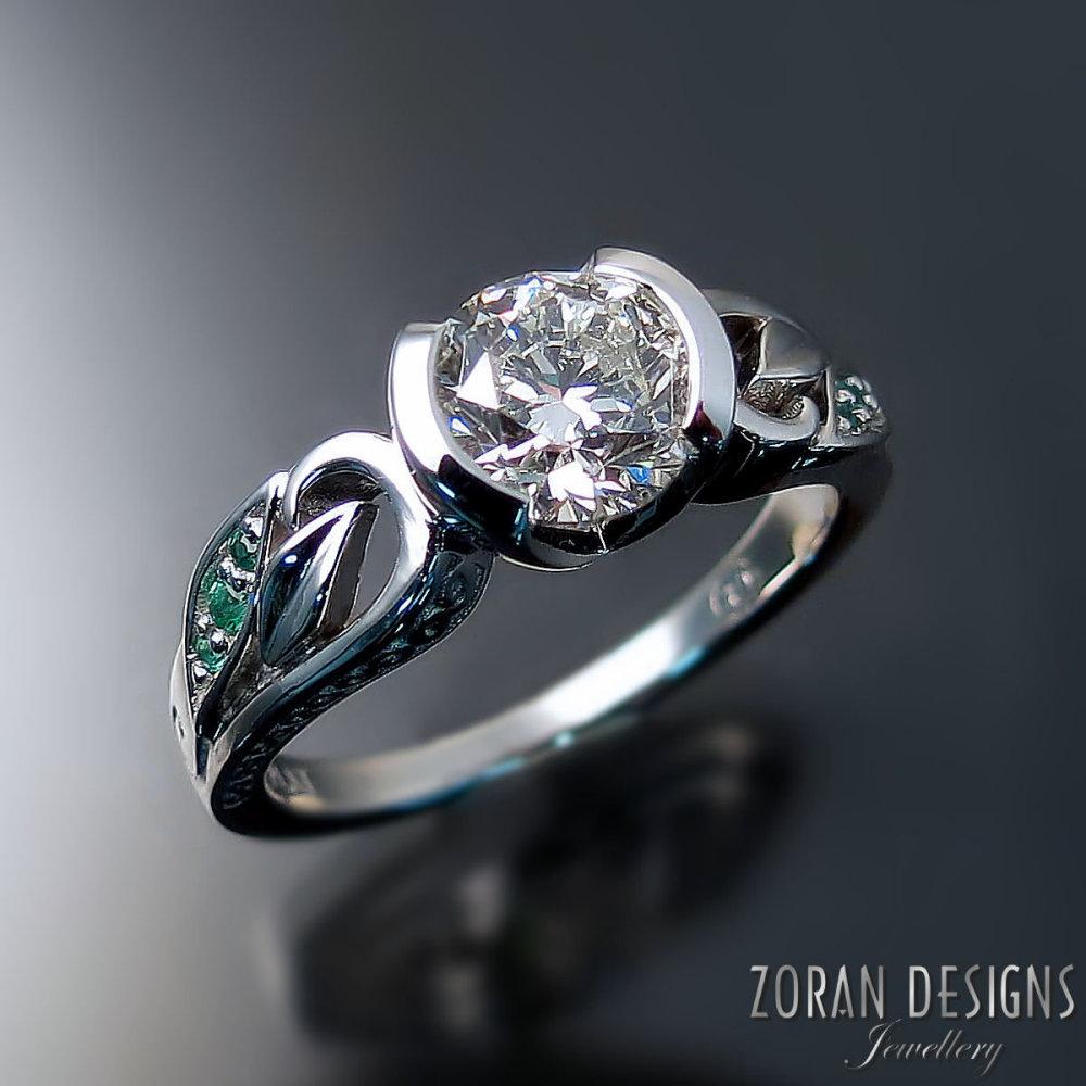 unique-engagement-rings-nature-inspired-leaf-design-platinum-diamond-emeralds.jpg