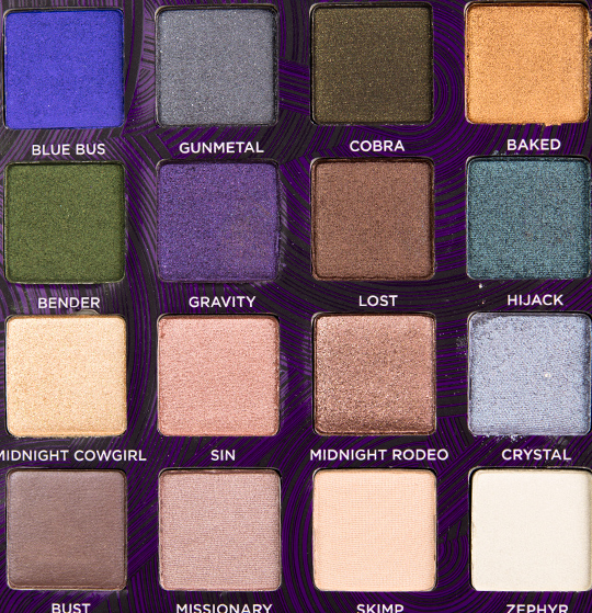 Urban Decay Book of Shadows Vol. 4 Palette