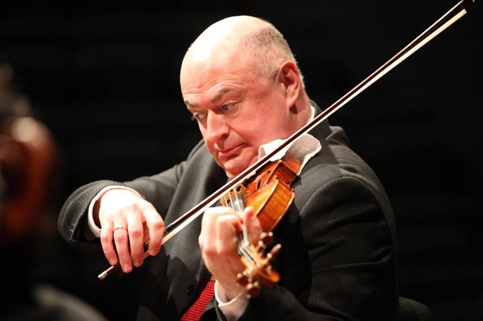 Ilya Kaler is one of the most outstanding personalities of the violin today, with a distinguished career as a soloist, chamber musician, recording artist and professor.  Mr. Kaler has earned rave reviews for his solo appearances with distinguished orchestras throughout the world, including the Leningrad, Moscow and Dresden Philharmonic Orchestras, Montreal Symphony, Danish and Berlin Radio Orchestras, Moscow and Zurich Chamber Orchestras. His solo recitals have taken him throughout the former Soviet Union, United States, East Asia, Europe, Latin America, South Africa and Israel. He has collaborated with a number of outstanding conductors such as Valery Gergiev, Dmitry Kitaenko, Mariss Jansons and Jerzy Semkow.