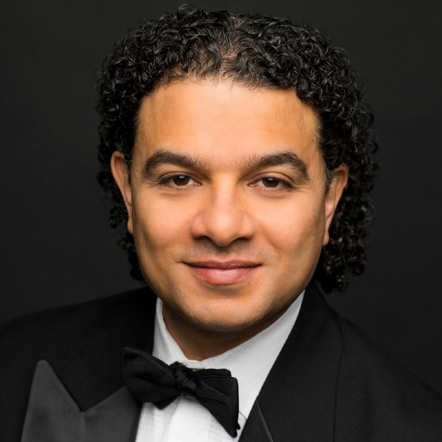 Mina Zikri, Music Director of The Oistrakh Symphony of Chicago