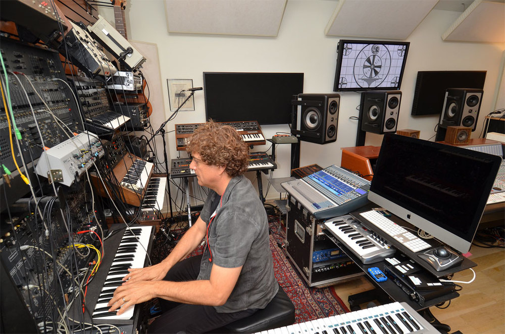 Another angle on the synth oasis.   (Photo Credit: David Goggin)