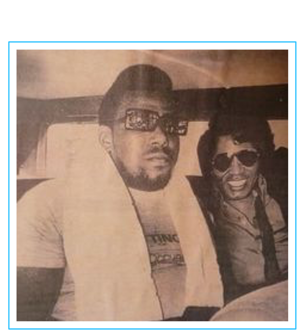 James Brown & Afrika Bambaataa