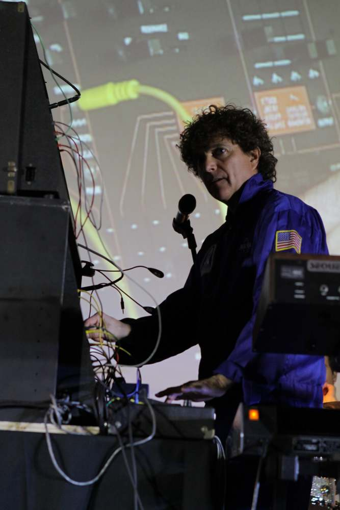 Anthony Marinelli performing live on his twin ARP 2600 at the NASA Ames, Conrad Foundation Spirit of Innovation Summit, Mountain View, CA, March, 2012