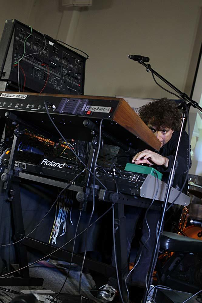 Anthony Marinelli performing on vintage analog synthesizers with Ozomatli at the NASA Ames, Conrad Foundation Spirit of Innovation Summit, Mountain View, CA, March, 2012