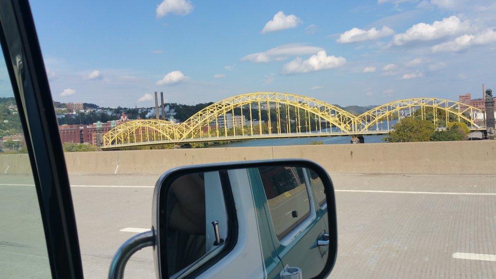 Pittsburgh, PA (Yellow Bridges)