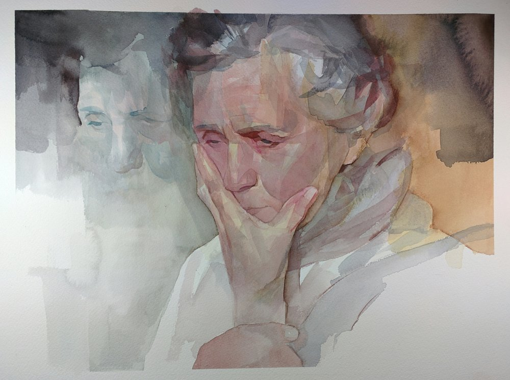 watercolor by Nick V. Runge