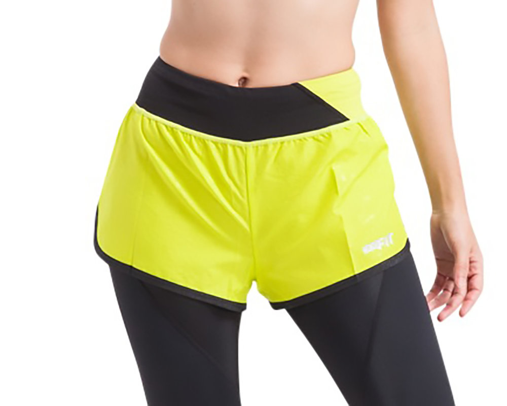 Water Repellant Running Shorts