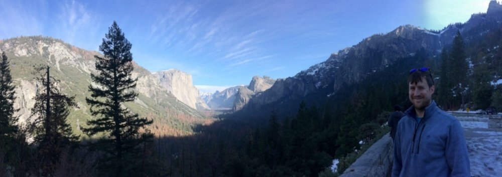 After hiking to Nevada Falls, a picturesque pit stop in Yosemite