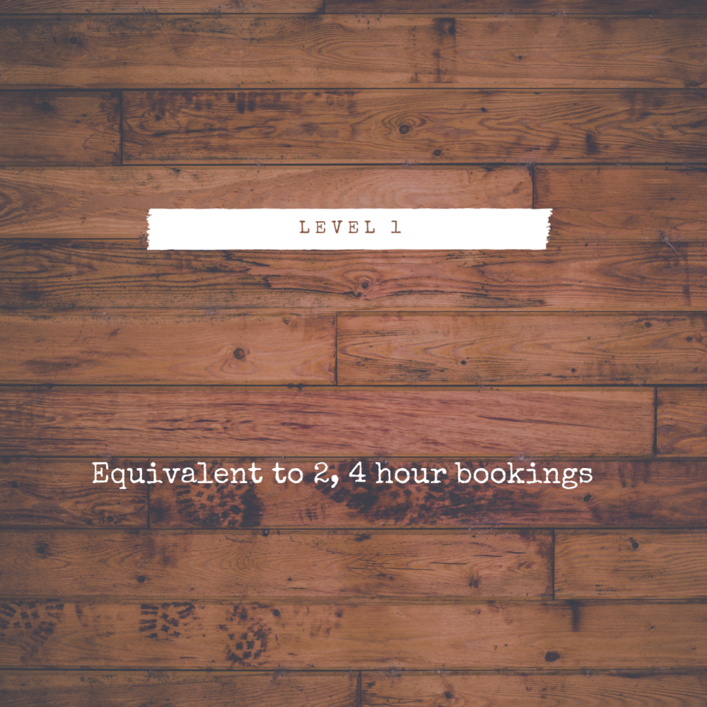 $125 - BOOK HERE