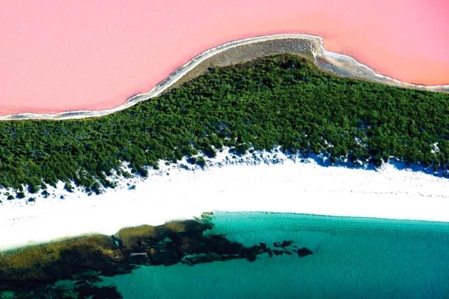 Lake Hillier & Pink Lake:
