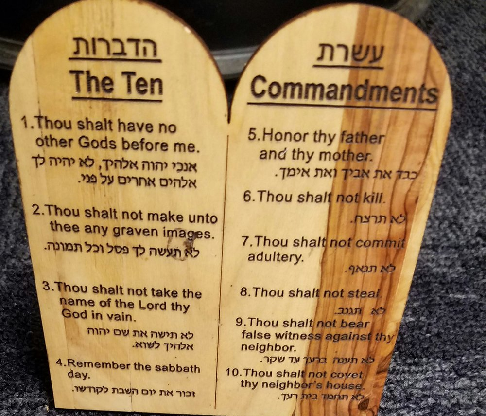 the ten commandments is meaningless for