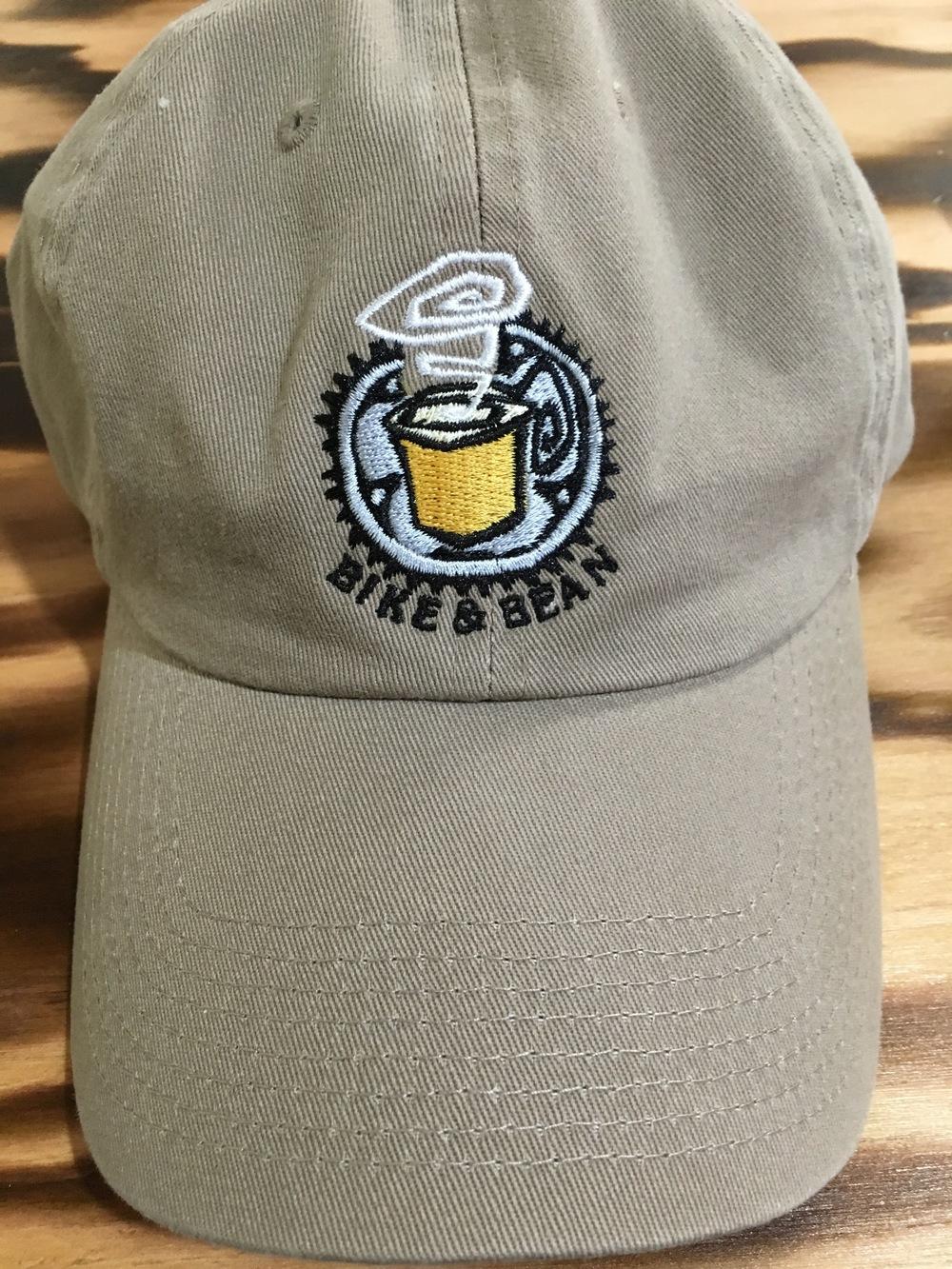 Logo Hat- Khaki $19.99