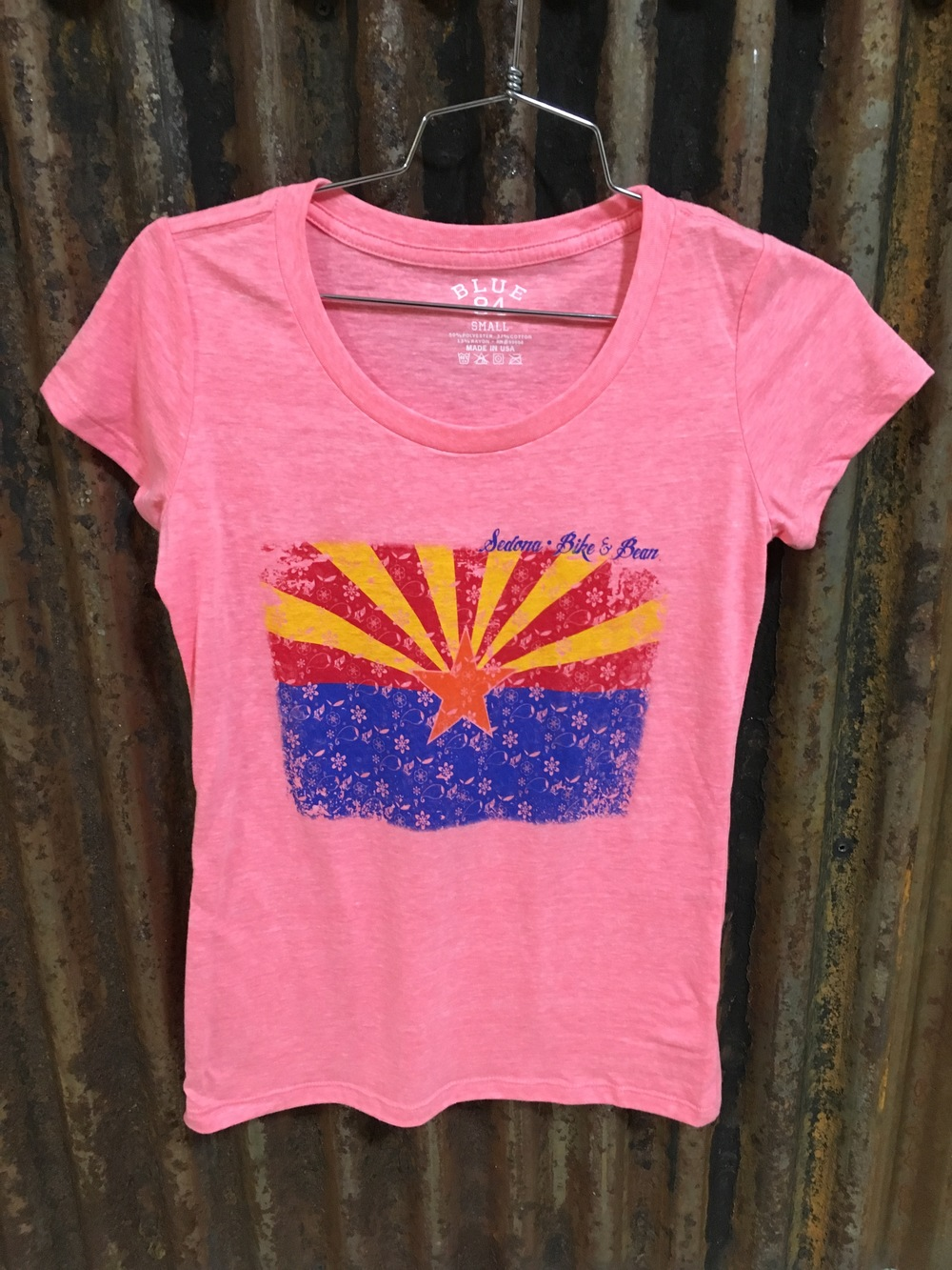 AZ Flag Pink Small- XL Juniors Sizing $21.99