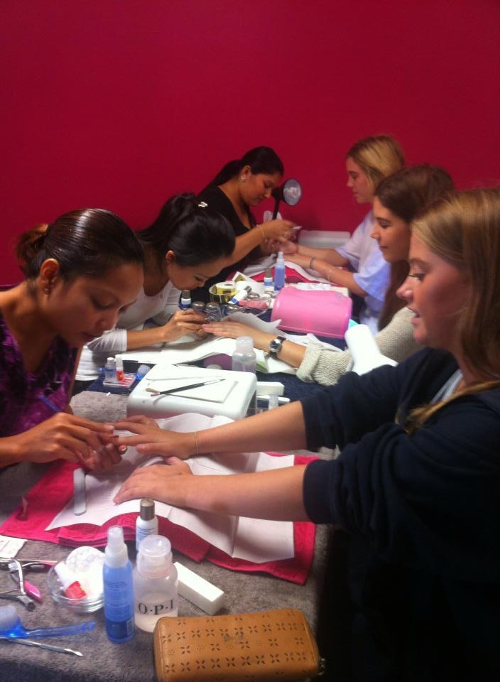 Manicure pedicure course