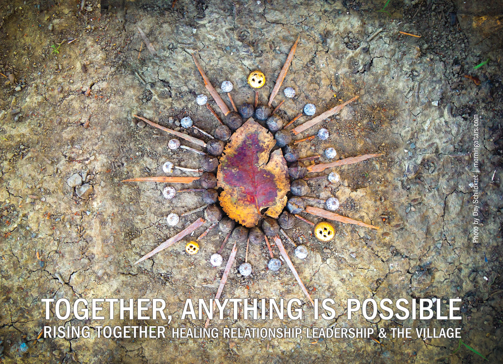 CALIFORNIA, RISING TOGETHER RETREAT, MARCH 26-APRIL 1, 2016. More info