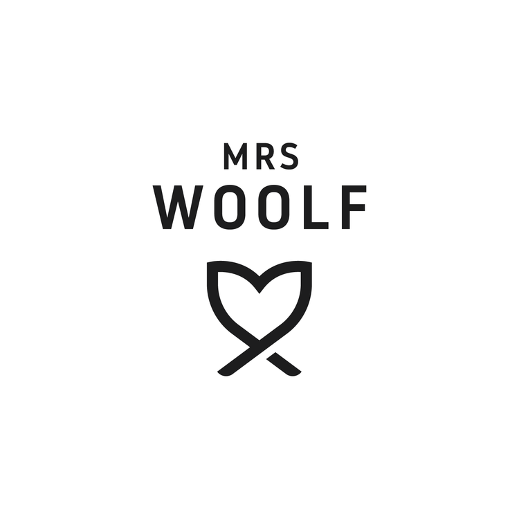 Mrs Woolf - Brand Identity — Paper Snap