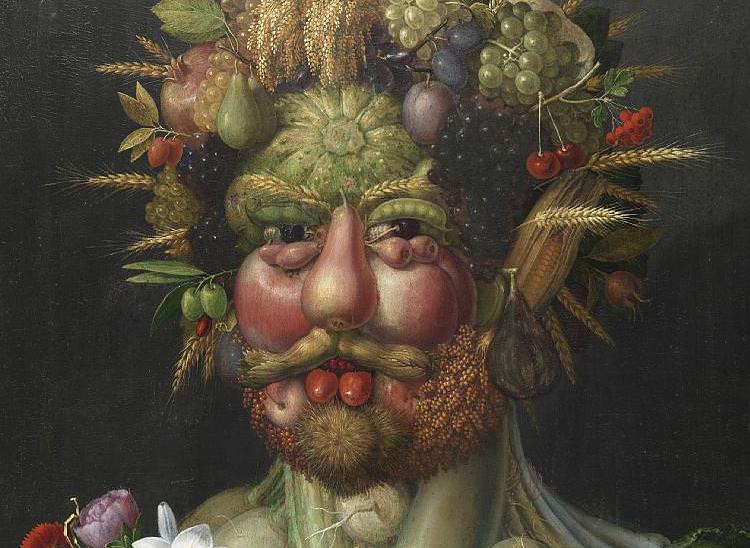 Giuseppe Arcimboldo, Vertumnus  c. 1590-1