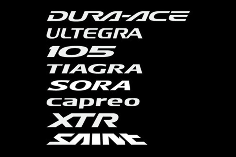 Shimano Groupset Logos