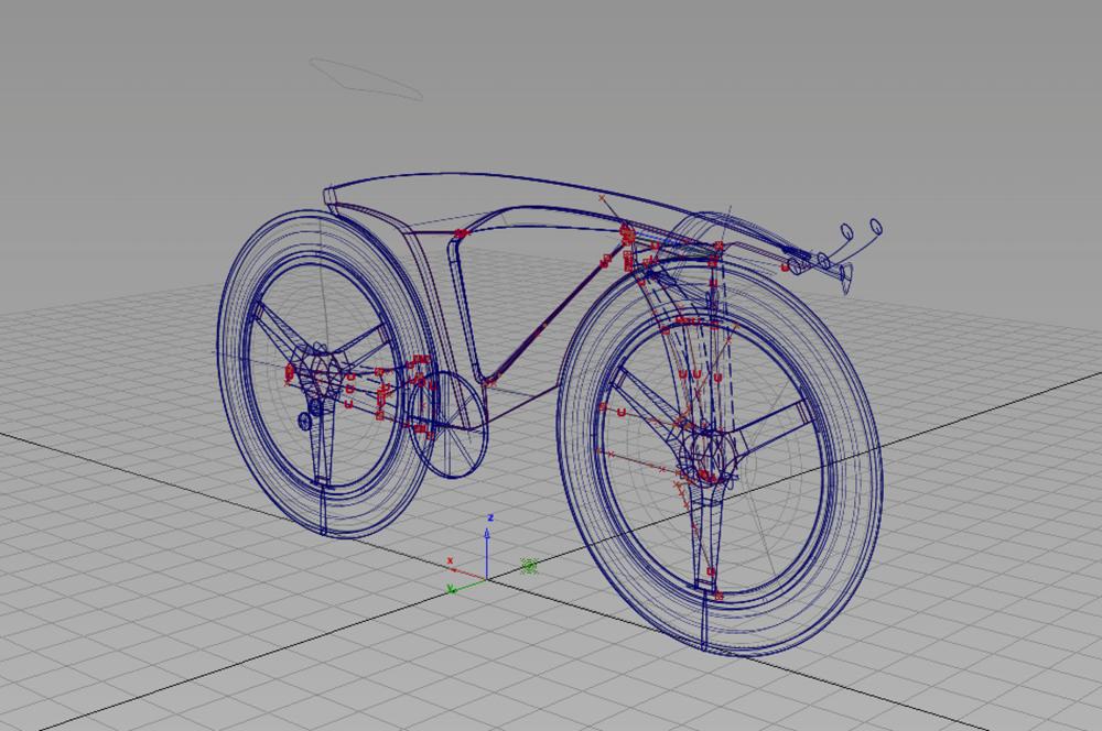 Alias 3D Model
