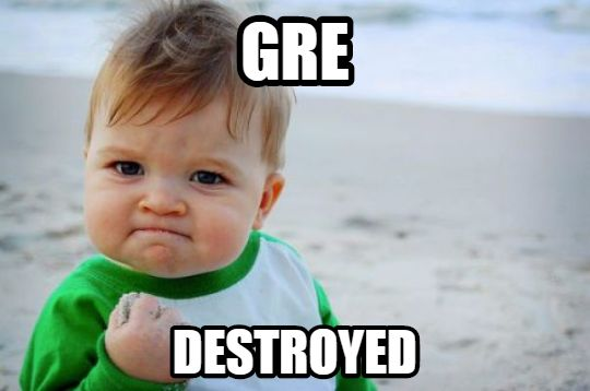Higher-GRE Score-Success Kid