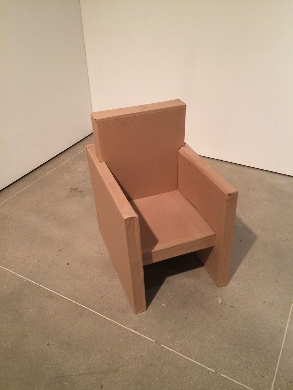 Cardboard Chair Assignment