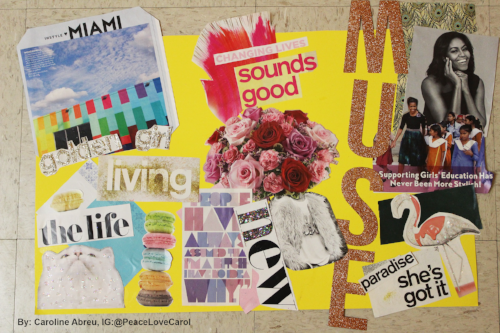 Examples of Vision Boards: